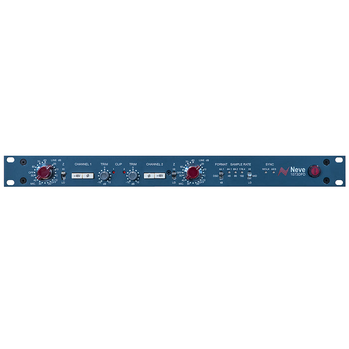 AMS Neve 1073 DPD Dual Pre Amp with Digital Output and Neutrik NADIT Box for SPDIF Conversion