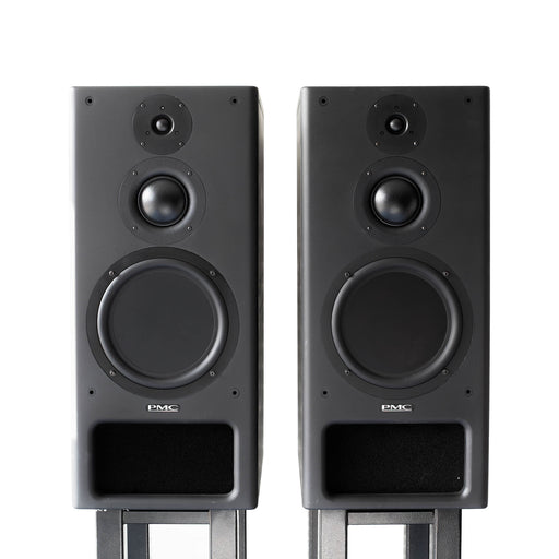 PMC IB1S passive studio monitors. Neo Black. (Pair) with Bryston 4B SST Amplifier - Used