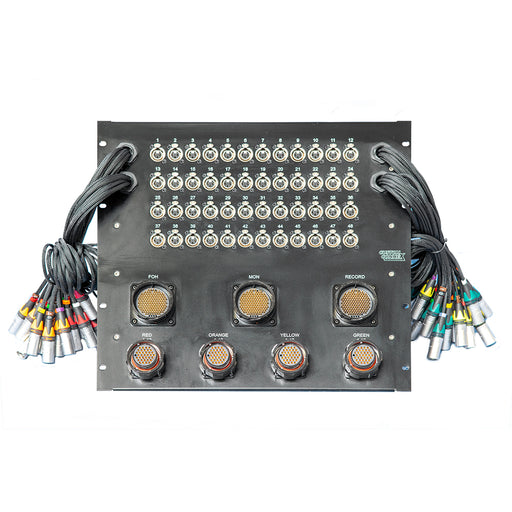 Custom Connex - 48 Way Stage Split - 3 Way Split to 3 x Veam Outputs