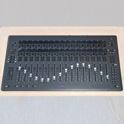 Avid S3 - Compact 16-fader EUCON control  Surface - Used