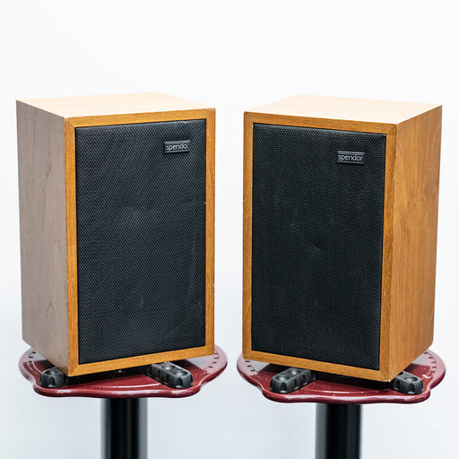 Spendor LS3/5a Speakers Teak Wood finish PAIR - Used