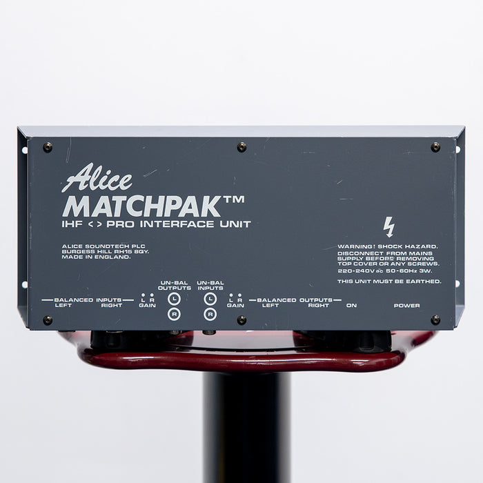 Alice Matchpak 1 unbalanced to balanced converter - Used