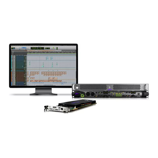 Avid Pro Tools HDX Thunderbolt 3 HD Omni Rackmount System - Complete Pro Tools System with Pro Tools Ultimate Perpetual License, HDX Core PCIe Card, HD OMNI Audio Interface, Thunderbolt 3 Rack Chassis (9935-72788-00)
