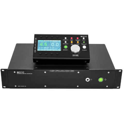 Grace Design M905 Analog - High Fidelity Stereo Monitoring System with Remote Control Unit - Black