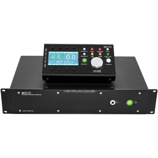 Grace Design M905 - High Fidelity Stereo Monitoring System with Remote Control Unit - Black
