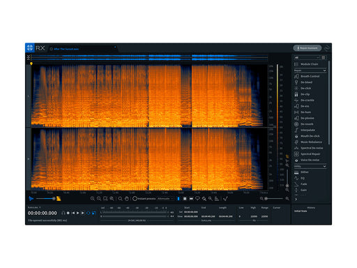 iZotope RX 7 Standard UPGRADE from  previous version of RX Standard or Advanced