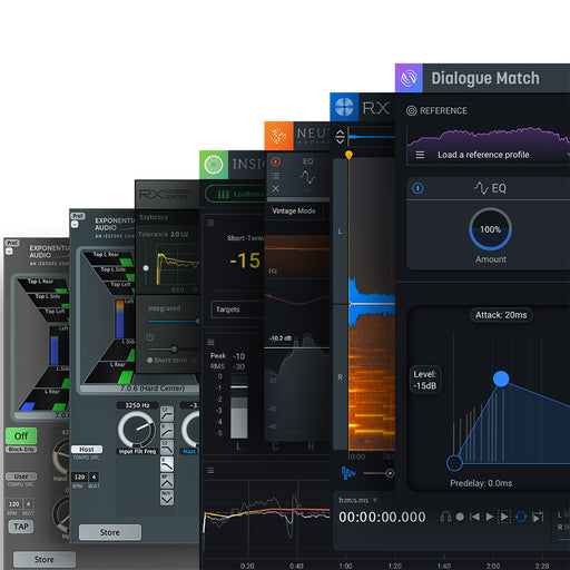 iZotope RX Post Production Suite 4 - Upgrade from RX Post Production Suite 1-3