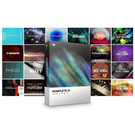 Native Instruments Komplete 13 Select - Software Bundle
