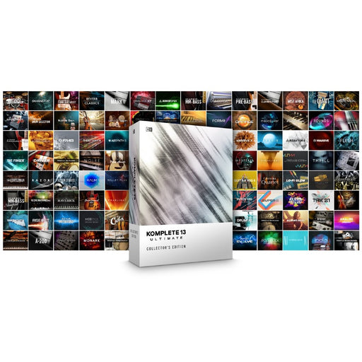 Native Instruments Komplete 13 Ultimate Collectors Edition - Upgrade from KU8-13