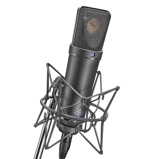 Neumann U87 AI MT Studio Set, with shock mount - Black