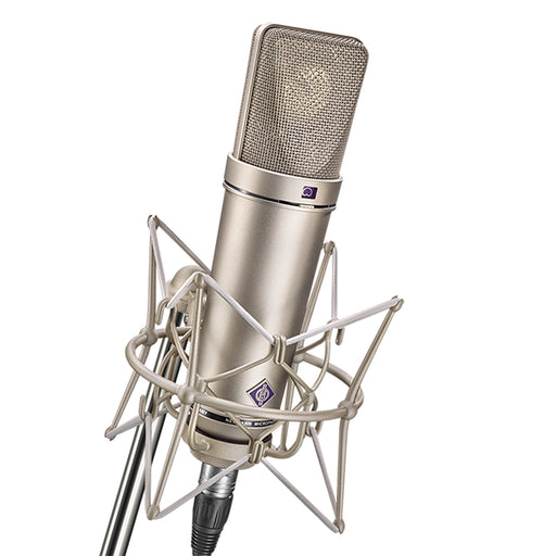 Neumann U87 Ai Studio Set, with shock mount - Nickel