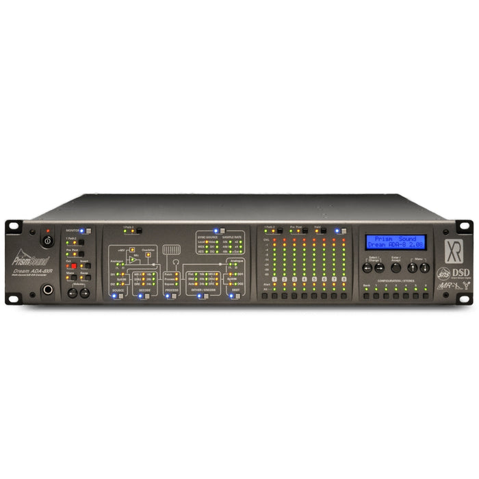 Prism ADA8XR-FW - Audio Processor 8 ch A/D & D/A with FireWire