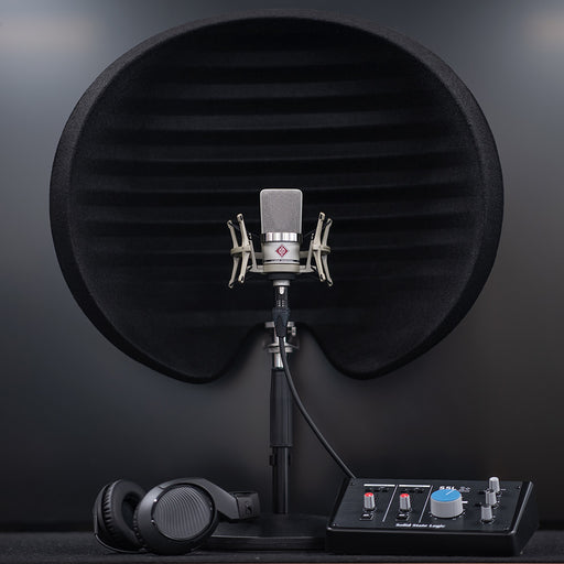 Home Studio Bundle 02 Inc. Neumann TLM102, Aston Halo, SSL 2+, Sennheiser HD200, TableTop Stand & Mic Cable
