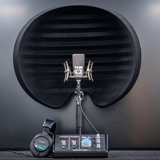 Home Studio Bundle 03 Inc. Neumann TLM102, Aston Halo, SSL 2+, Sony MDR-7506, TableTop Stand & Mic Cable