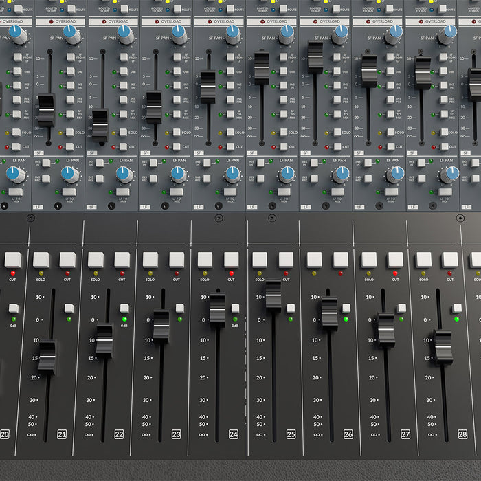 SSL Origin 32-channel in-line mixing console