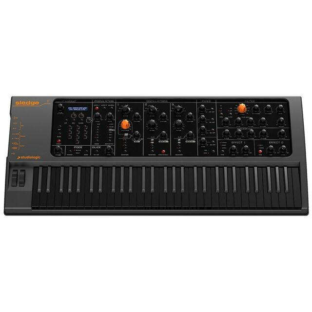 Studiologic Sledge 2.0 Black Edition - 61 Key Synthesizer