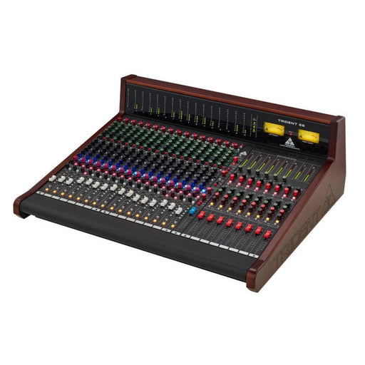 Trident 68 16 Channel Console with LED Meter Bridge
