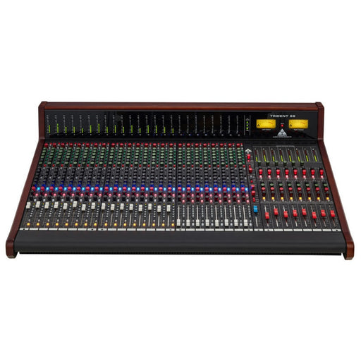 Trident 68 24 Channel Console with LED Meter Bridge