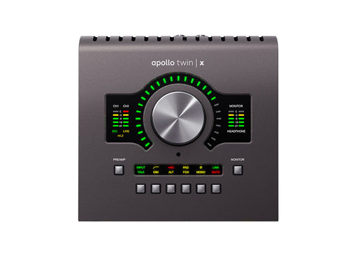 Universal Audio Apollo Twin X w/DUO DSP Processing - Manufacturer Refurbished & Sealed