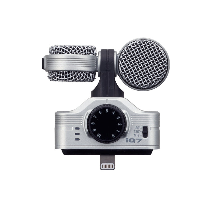Zoom iQ7 - MS Stereo Microphone for iPhone, iPod Touch and iPad