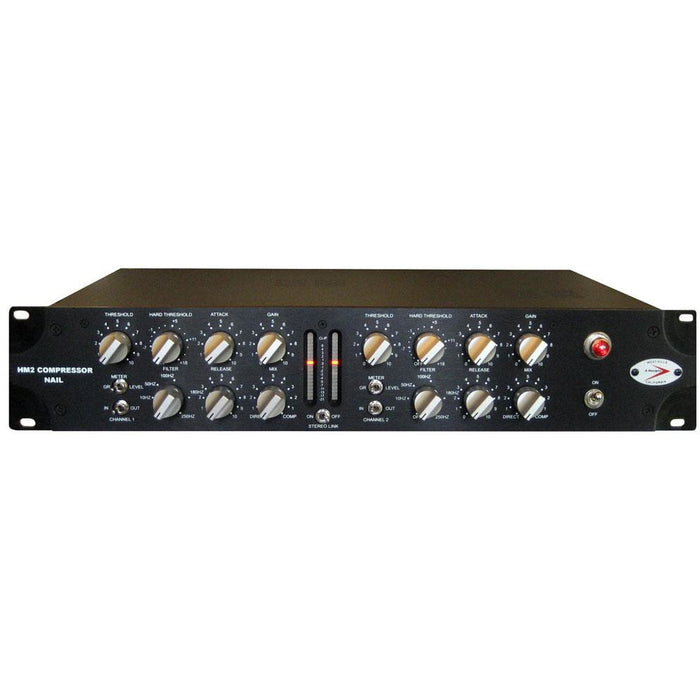 A-Designs HM-2 Nail - 2-Channel Valve/Hybrid Tracking/Bus Compressor Front