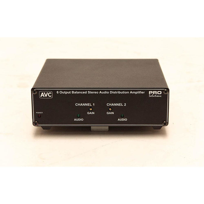 Tieline ADA600 6 output balanced audio distribution amplifier Front