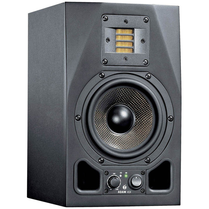 "Adam A5X - Active Nearfield Monitor, 2-way, 5"" woofer - Single Front"