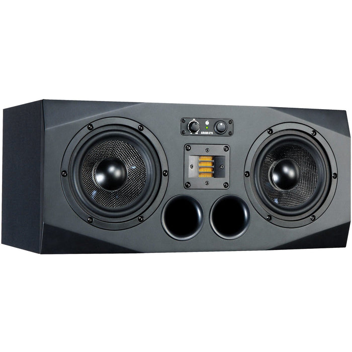 "Adam A77x Nearfield Monitor, 3-way, 2x 7"" woofer - Single Front"