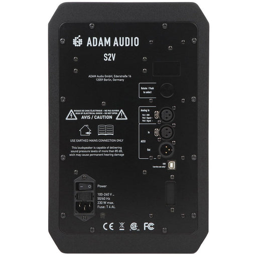 "Adam S2V - Nearfield Monitor, 2-Way, 7"" Woofer"