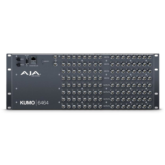 Aja KUMO 6464 - KUMO 64x64 Compact SDI Router, with 1 power supply