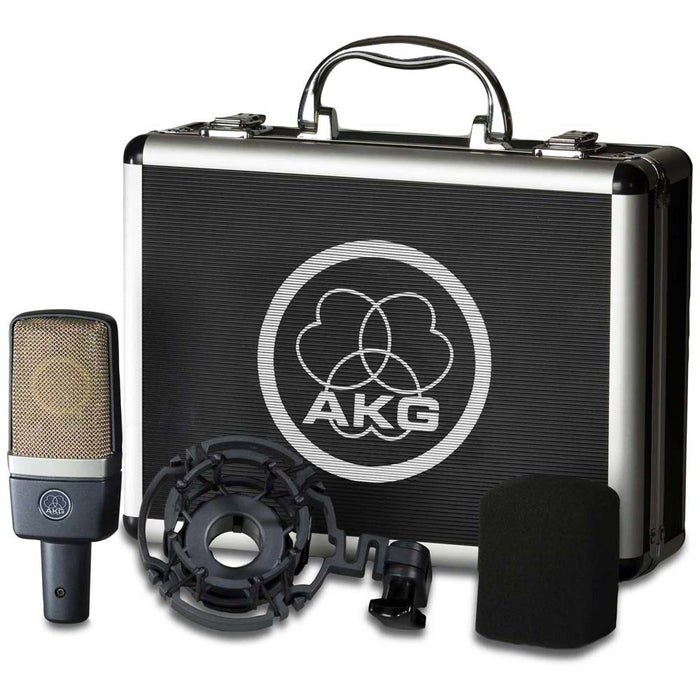 AKG C214 Large Diaphragm Condenser Microphone - B-Stock