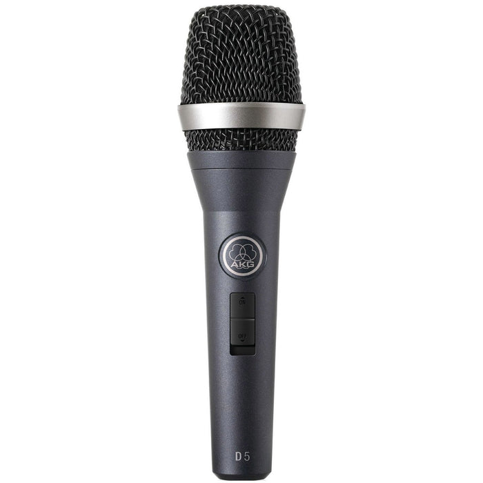 AKG D5S - Dynamic Vocal Microphone with On/Off Switch