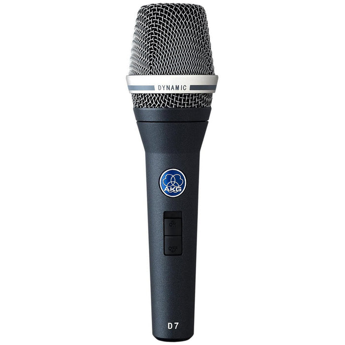 AKG D7S - Dynamic Vocal Microphone With On/Off Switch