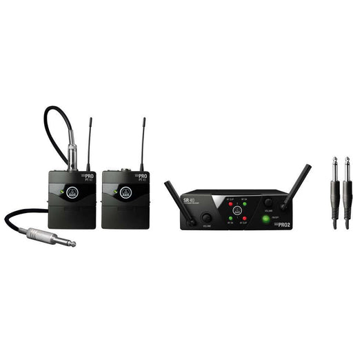 AKG WMS40 Mini Dual Channel Wireless Instrument System