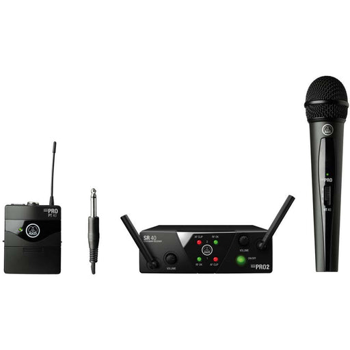 AKG WMS40 Mini Dual Wireless Vocal Instrument System