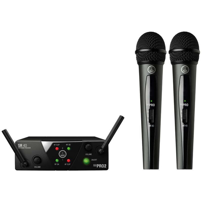 AKG WMS40 Mini Dual Wireless Vocal System