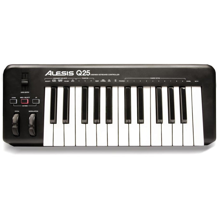 Alesis Q25 - 25-note, velocity sensitive keyboard controller