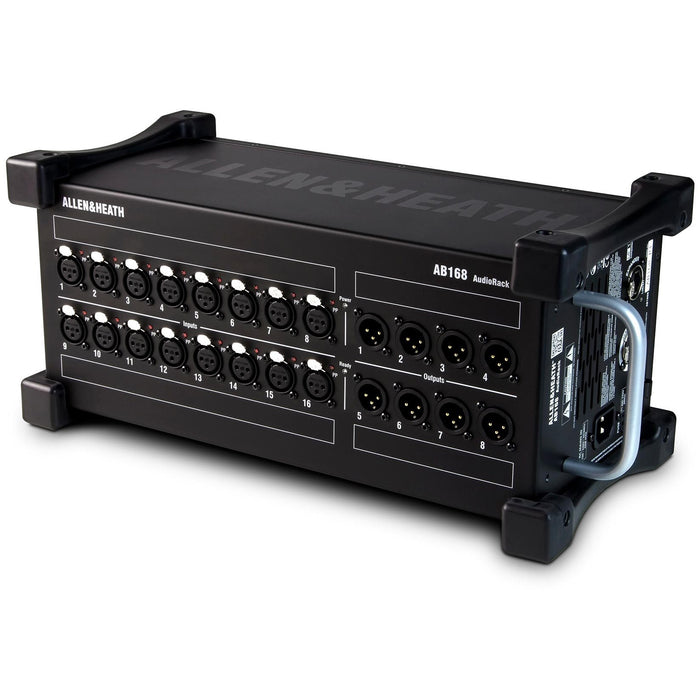 Allen & Heath AB-168 - 16 input, 8 output stage box for use with the Qu & GLD series Mixing desks.