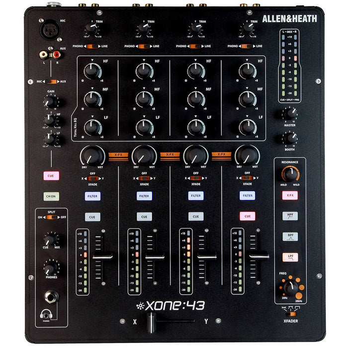 Allen & Heath XONE 43 -  4 into 2 Club & DJ Mixer