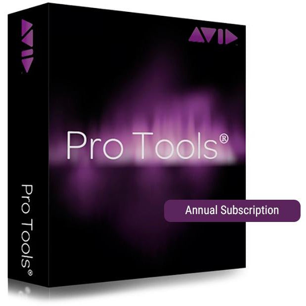 Avid Pro Tools - Annual Subscription