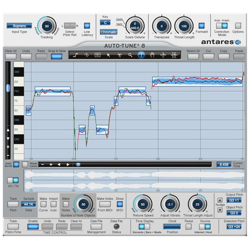 Antares Auto-Tune 8 Pitch Correcting Plug-in Native