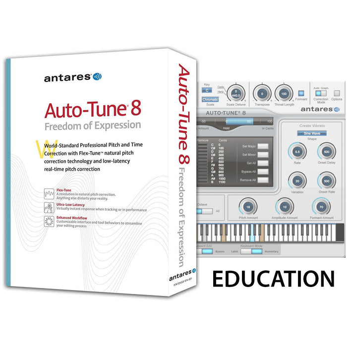 Antares Auto-Tune Vocal Studio EVO Native - Inc. Autotune and Avox - Education