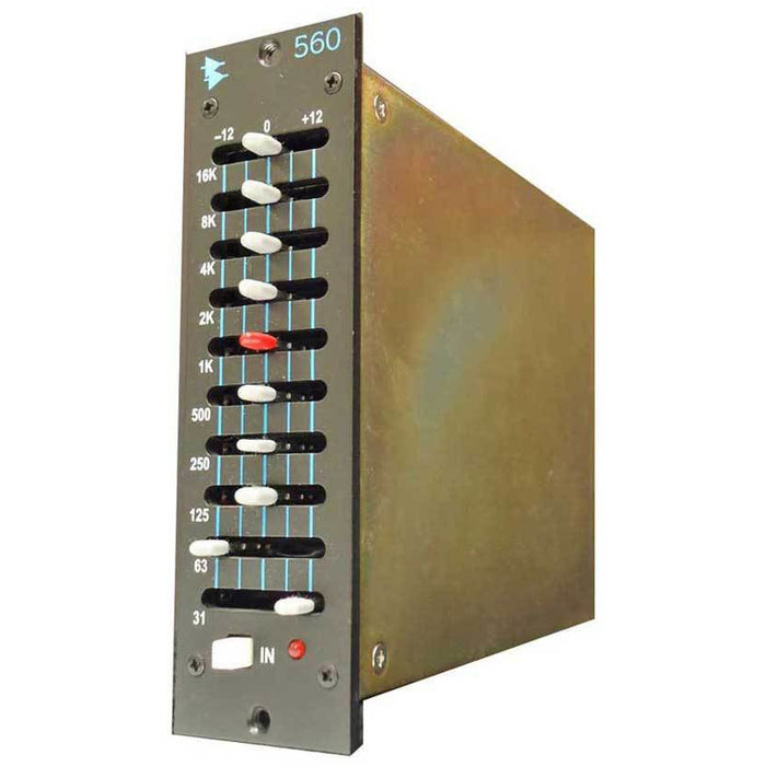API 560 - 500 Series 10 Band Graphic EQ