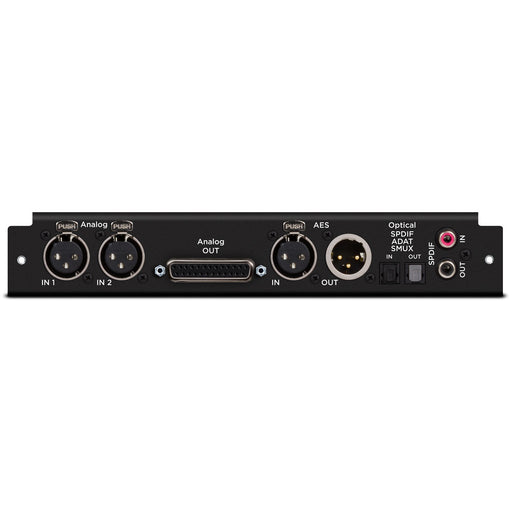 Apogee Symphony MkII 2x6 Analog I/O + 8x8 Optical + AES I/O Module - Chassis Needed