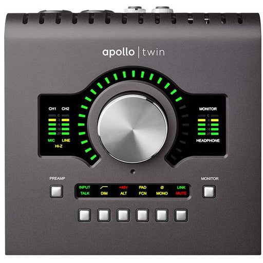 Universal Audio Apollo Twin MKII QUAD - Manufacturer Refurbished & Sealed