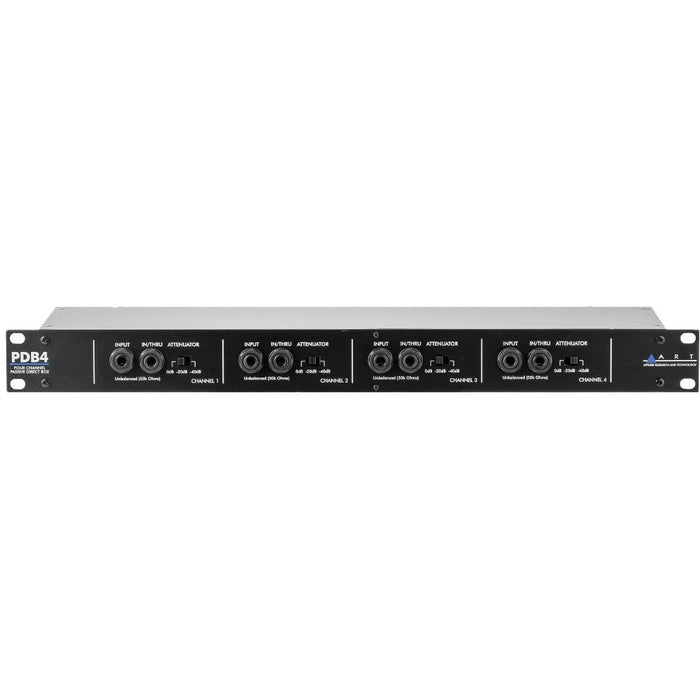 ART PDB4 - 4 Channel Rackmount DI