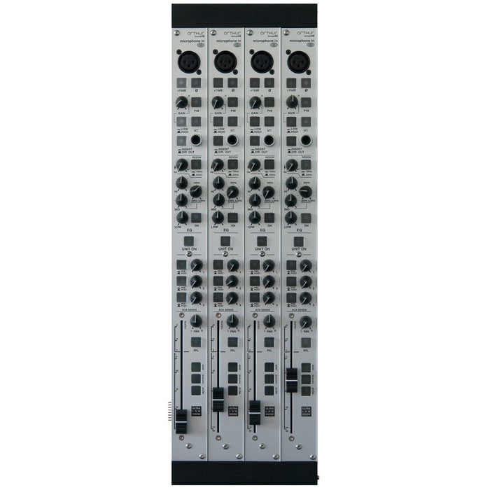 Schertler ART48-MICIN-ULNx4 - Arthur Modular mixer Microphone Input module - Ultra low noise module 4 modules pack