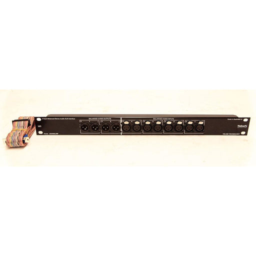 Tieline AS450XLRIFA pre wired DB25 to 1u XLR input panel for the AS450 Front