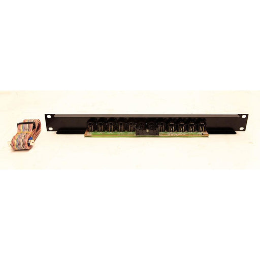 Tieline AS450XLRIFA pre wired DB25 to 1u XLR input panel for the AS450