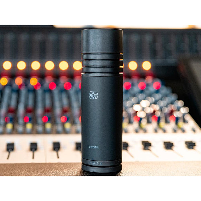 Aston Microphones Stealth - Broadcast quality microphone for studio and stage with 4 switchable voices - B-Stock